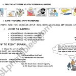 Personal Hygiene And How To Fight With Germs   Esl Worksheetmlml | Germs Worksheets Printables