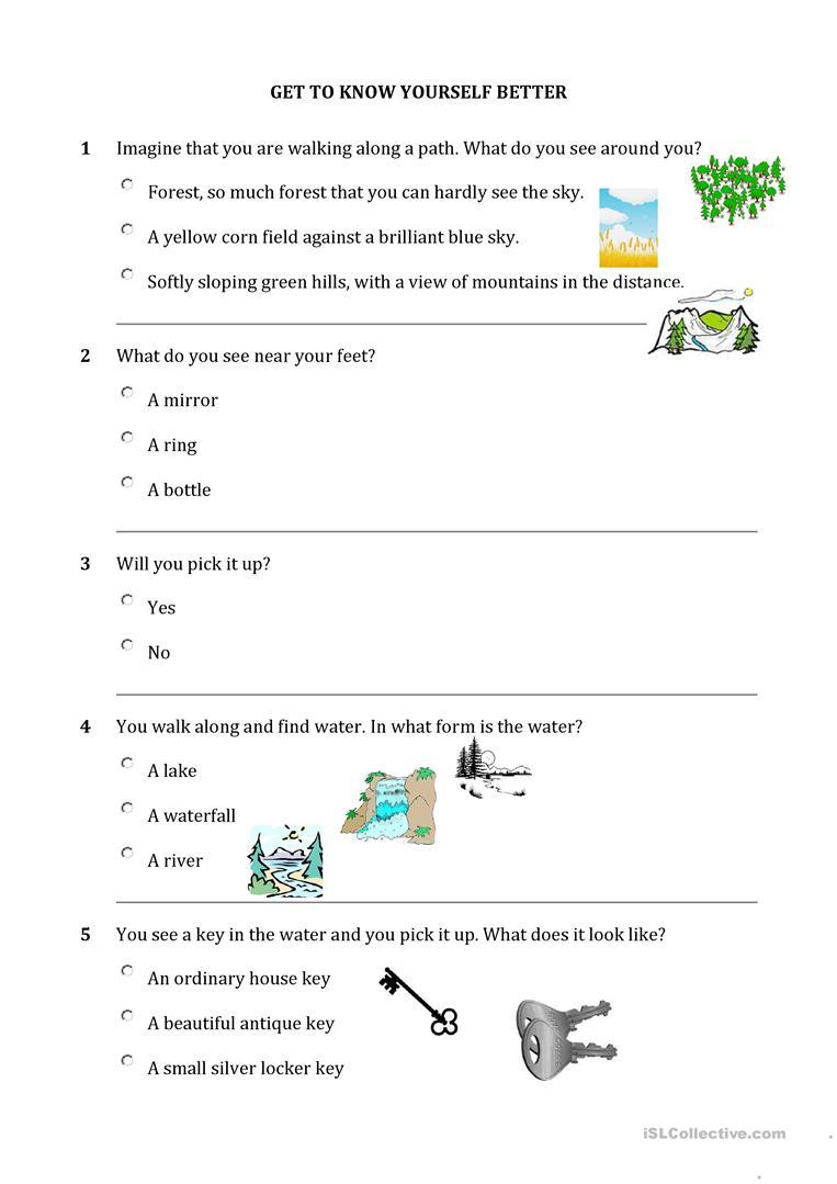 Personality Quiz Worksheet - Free Esl Printable Worksheets Made   Personality Quiz Printable Worksheet