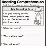Pinkelly Matz On Ese | Free Reading Comprehension Worksheets | Free Printable Reading Comprehension Worksheets For Kindergarten