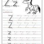 Pinvilfran Gason On Decor | Alphabet Worksheets, Letter Tracing | Letter Z Worksheets Free Printable