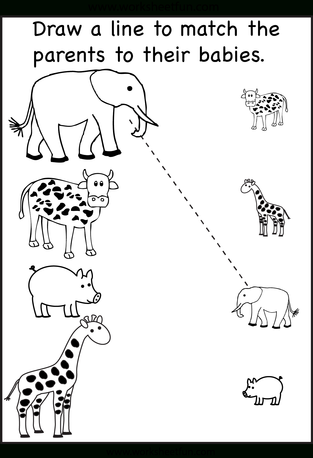 Pinzhenya Ilushevitch On Animals | Preschool Worksheets | Printable Worksheets For 3 Year Olds