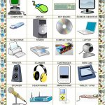 Poster   School   Computer Parts Worksheet   Free Esl Printable | Parts Of The Computer Worksheet Printable