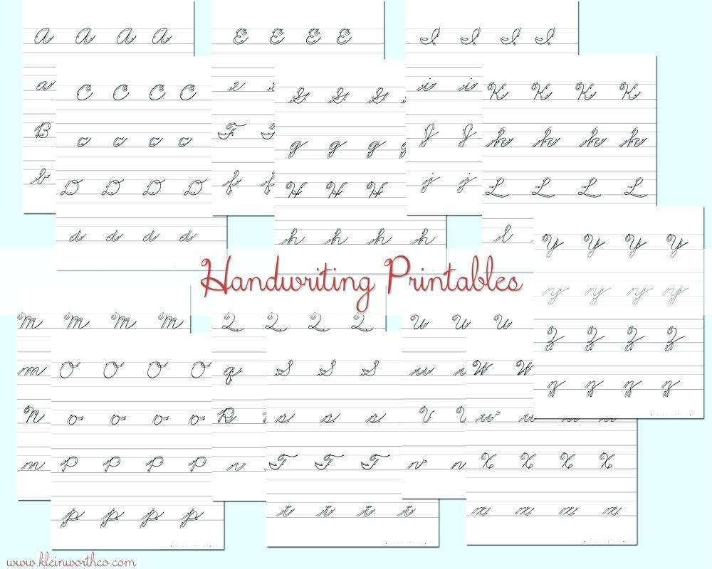 Practice Handwriting Worksheets - Koran.sticken.co   Free Printable Worksheets Handwriting Practice