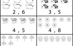 Counting Printable Worksheets For Kindergarten