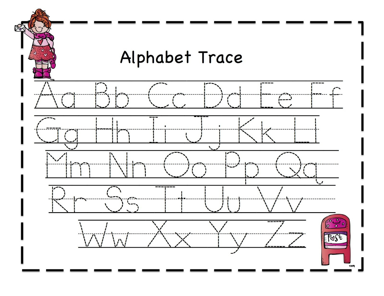 Pre K Writing Worksheets – With Blank Handwriting Also Printable | Free Printable Handwriting Worksheets For Kids