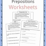 Prepositions Definition, Worksheets & Examples In Text For Kids   Free Printable Worksheets For Prepositions