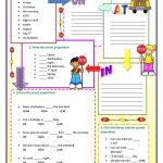Prepositions Of Time Worksheet   Free Esl Printable Worksheets Made   Free Printable Worksheets For Prepositions