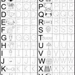 Preschool Letter Worksheets Free – With Curriculum Also Kindergarten | Printable Letter Worksheets For Preschoolers