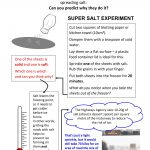 Primary (Key Stage 2 Science) Worksheet About Salt And Ice | Unit | Science Worksheets Ks2 Printable