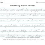 Print Cursive Worksheets Free Printable Bible Verses For Handwriting | Handwriting Names Printable Worksheets