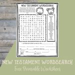 Printable Bible Activities Archives   Path Through The Narrow Gate | Books Of The Bible Printable Worksheets