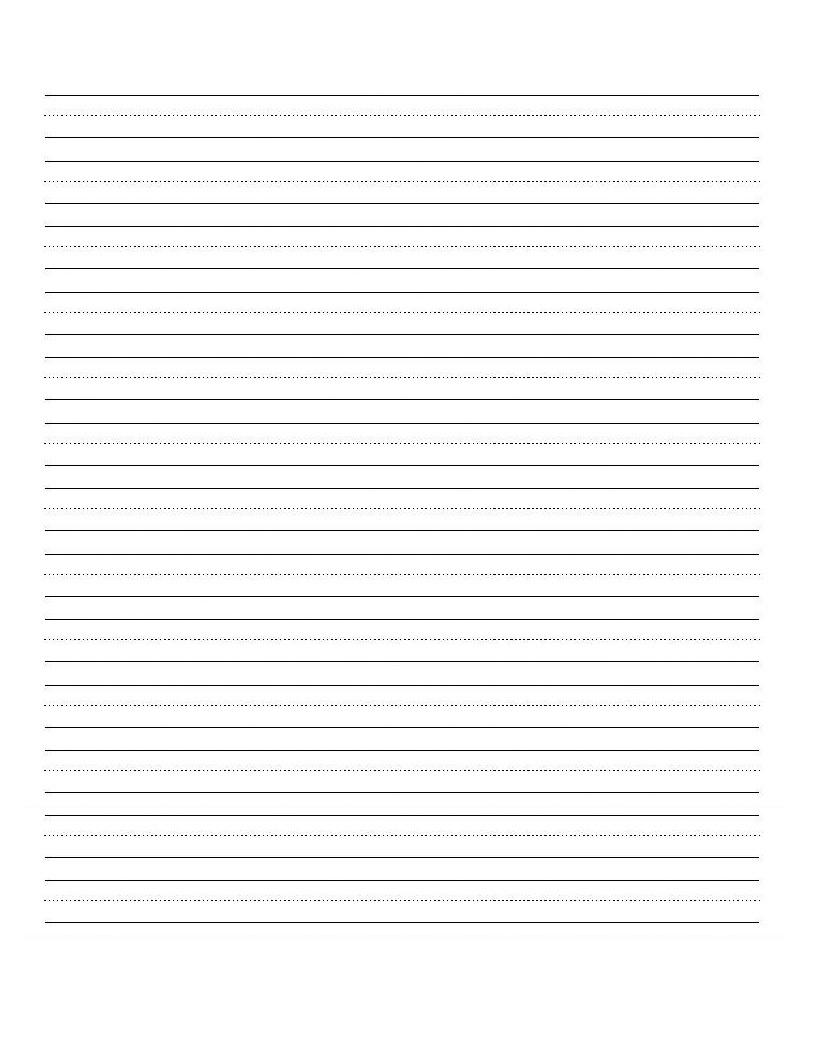 Printable Blank Writing Worksheet | Education | Cursive Writing | Printable Blank Handwriting Worksheets