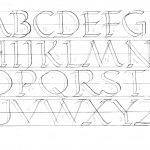 Printable Calligraphy Practice Worksheets | Bill's Space | Printable Calligraphy Practice Worksheets