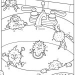 Printable Coloring Pages Of Germs | Roger Bain Writes Songs About | Germs Worksheets Printables