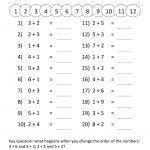 Printable Grade 1 Math Worksheets | Activity Shelter | Printable Math Worksheets