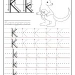 Printable Letter K Tracing Worksheets For Preschool | Learning | Letter K Worksheets Printable