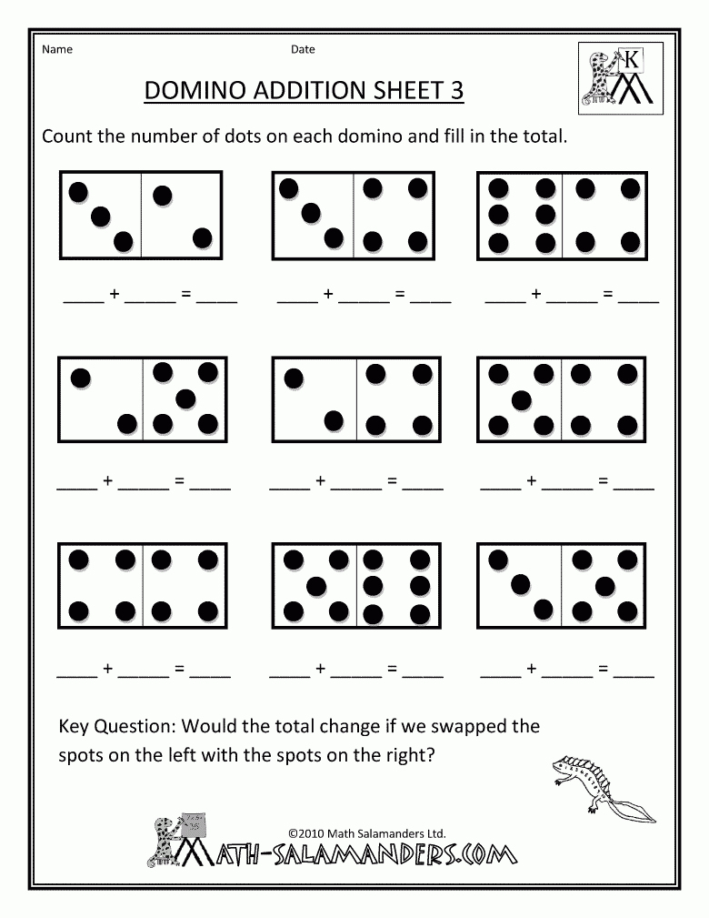 Printable Preschool Math Worksheets – With Free For Kids Also | Primary Maths Worksheets Free Printable