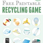 Printable Recycling Game | Free Printable Of The Day | Earth Day | Free Printable Recycling Worksheets