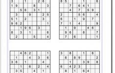 Printable Sudoku Puzzles | Math Worksheets | Sudoku Puzzles, Maths | Printable Sudoku Worksheets