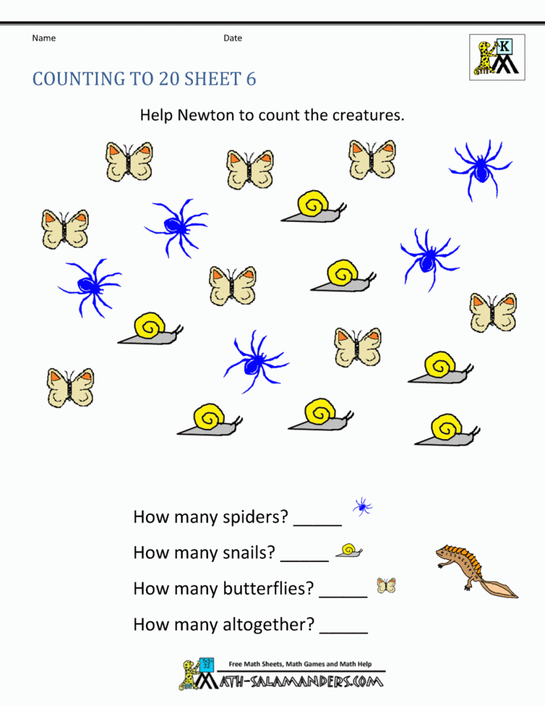 Printable Worksheets For Nursery – With Free Kindergarten Also   Free Kumon Printable Worksheets Preschoolers