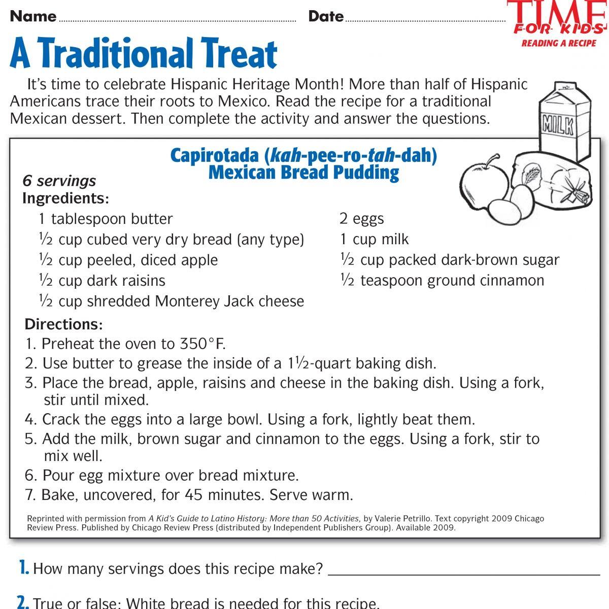 Printables For Hispanic Heritage Month | Time For Kids | Ideas | Hispanic Heritage Month Printable Worksheets