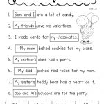 Pronoun Valentine.pdf | School   Ela | Pronoun Worksheets, Classroom | Free Printable Pronoun Worksheets For 2Nd Grade