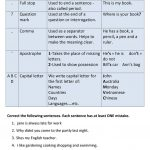 Punctuation And Capitalization Worksheet   Free Esl Printable   Free Printable Worksheets For Punctuation And Capitalization