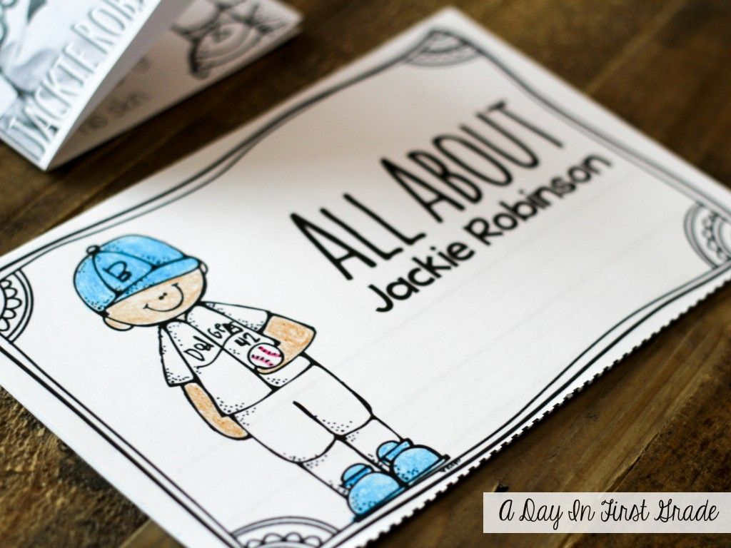 Quick! Grab A Lesson– Jackie Robinson {Freebie!!} | Literacy | Free Printable Worksheets On Jackie Robinson