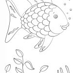 Rainbow Fish | Super Coloring | Arts And Crafts | Fish Coloring Page | Rainbow Fish Printable Worksheets