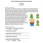 Reading Comprehension Practice Questions   Comprehension Passages | Free Printable Reading Comprehension Worksheets Grade 5