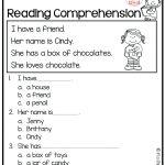 Reading Comprehension Worksheet 1St Grade – Karenlynndixon | Free Printable Reading Worksheets For 1St Grade