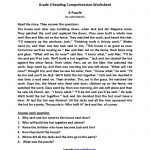 Reading Worksheets | Fourth Grade Reading Worksheets   Free | Free Printable 4Th Grade Reading Worksheets