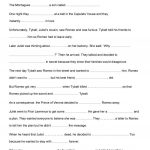 Romeo And Juliet Activities Worksheet   Free Esl Printable | Romeo And Juliet Free Printable Worksheets