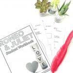 Romeo And Juliet Workbook   Teaching Tools   English Teaching   Romeo And Juliet Free Printable Worksheets