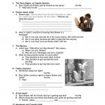Romeo & Juliet Worksheet   Free Esl Printable Worksheets Made | Romeo And Juliet Free Printable Worksheets