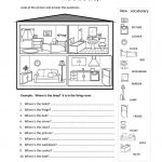 Rooms In The House Worksheet   Free Esl Printable Worksheets Made | Home Worksheets Printables