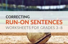Free Printable Worksheets On Run On Sentences