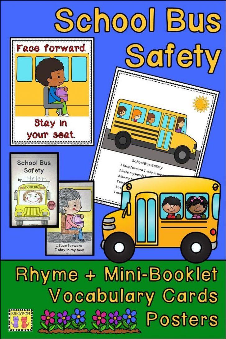 Free Printable School Bus Safety Worksheets