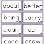 Sight Words Printables And Worksheets | A To Z Teacher Stuff | Free Printable First Grade Sight Words Worksheets
