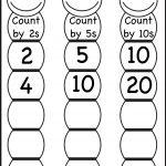 Skip Counting2, 5 And 10 – Worksheet / Free Printable Worksheets | Counting In Twos Worksheet Printable