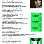 "Song ""photograph""ed Sheeran Worksheet   Free Esl Printable | Printable Photography Worksheets"