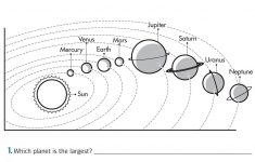 Space Printable Worksheets