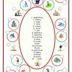 Sports (Label The Pictures) Worksheet   Free Esl Printable | Archery Printable Worksheets