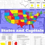 States And Capitals Pack   Only Passionate Curiosity | Free Printable States And Capitals Worksheets