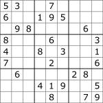 Sudoku   Wikipedia   Free Printable Sudoku Puzzles   Free Printables   Printable Sudoku Worksheets