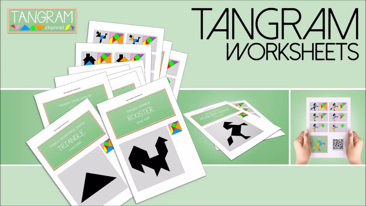 Tangram Worksheets - Providing Teachers And Pupils With Tangram | Printable Tangram Worksheets