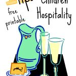 Teaching Children Hospitality   Free Printable!   Blessed Beyond A Doubt | Hospitality Worksheets Printable