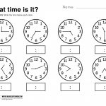 Telling Time Worksheets Grade 3 | Lostranquillos   Free Printable | Telling Time Worksheets Printable