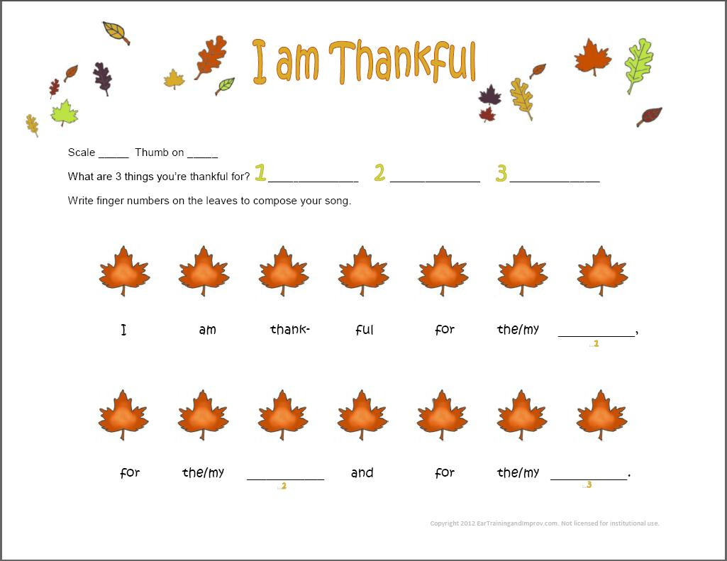 Thanksgiving Music Worksheets - 9 Fun Free Printables For Kids | Free Printable Preschool Music Worksheets