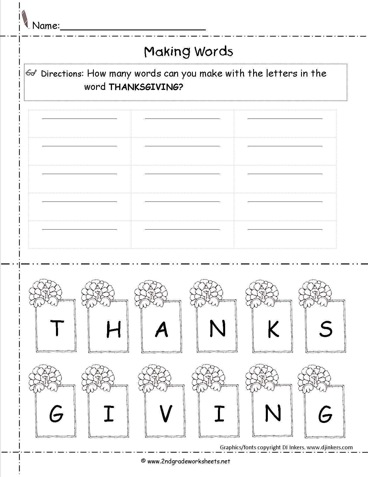 Thanksgiving Printouts And Worksheets - Free Printable Thanksgiving | Free Printable Thanksgiving Math Worksheets For 3Rd Grade